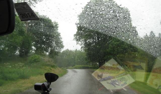 Schweden im Regen