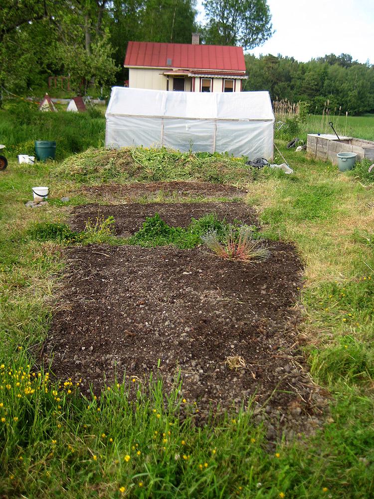 Beet, Beet, Kompost, Gewächshaus, Lillstuga
